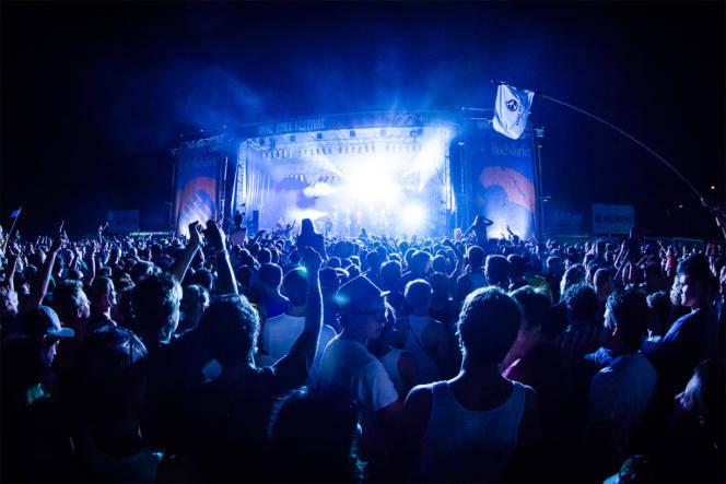 Konzert Foto Bühne Lightshow Festival - Fotograf Waldshut Tiengen 1