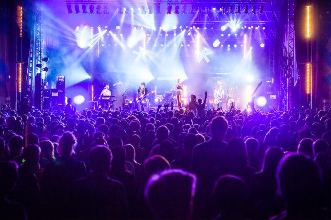 Konzert Foto Bühne Lightshow Festival - Fotograf Waldshut Tiengen 2